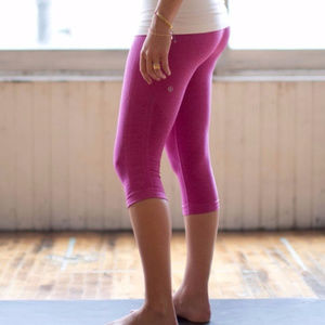 lululemon in the flow heathered raspberry